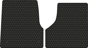 Freightliner Cascadia Rubber All Weather Floor Mats 2pc Fits 08 2017 Pick Color