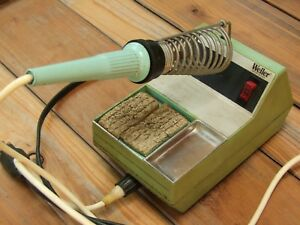 Vintage Weller Wtcp Series Soldering Station W Tc202 Pencil Soldering Iron 60