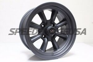 Rota Wheels Rkr 15x8 0 4x100 Mag Black Fits Miata E30 Civic Integra