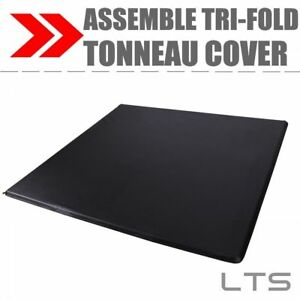 Lock Tri Fold Tonneau Cover For 1999 2006 Chevy Silverado 6 5 Short Bed Assembly