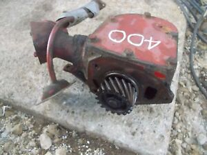 Farmall 400 Tractor Original Ih Ihc Engine Motor Governor Assembly