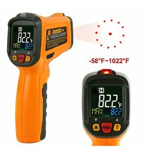 Infrared Thermometer Janisa Pm6530b Digital Laser Thermometer Non Contact holste