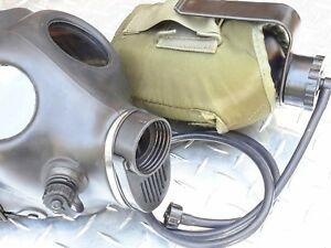Isreali Idf Gas Mask Ready 2 use Adult Kit W drink System canteen filter proki