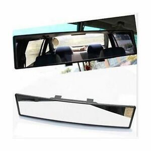 Opar Auto Car 300mm Wide Convex Curve Interior Clip On Rear View Mirror