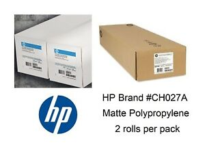 Hp Everyday Matte Polypro Pp Banner 60 In X 100 Ft ch027a private Roll 2 pk