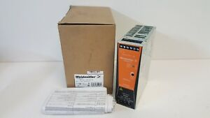 New In Box Weidmuller Power Supply Pro eco 120w 24v 5a 1469480000