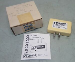 Omega Tac 386 tc Thermocouple To Analog Converter