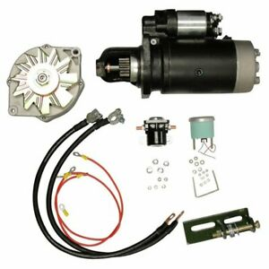 Alternator Starter Conversion Kit John Deere 3010 3020 4010 4020 24v 12v Delco