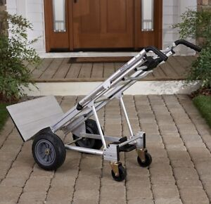 Heavy Duty Appliance Dolly Furniture Hand Truck 3 In 1 Aluminum Moving Cart