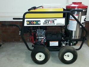 Northstar Gas Powered Wet Steam Hot Water Pressure Washer W honda Engine