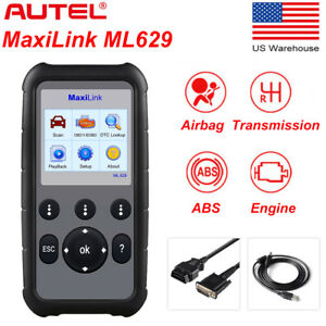 Autel Ml629 Diagnostic Tool Can Obd2 Code Reader Scanner Abs Srs Better Al629