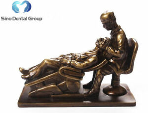 1 X Sino Dental Art Dentist Sculpture Dentistry Figurine Dental Clinic Gift