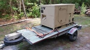 Mep802a Diesel Generator 1475 Hours With Trailer It s Hurricane Season