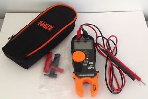 Klein Tools Voltage Digital Detector Cl 3200 200a Amp Ac Multi Meter Fork Tester