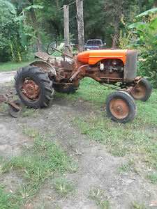 Allis Chalmers Ca Tractor runs