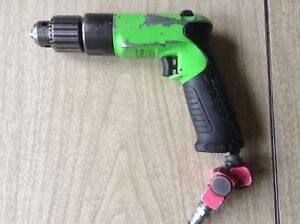 Snap On Usa 3 8 Capacity Reversible Air Drill Pdr3000ag