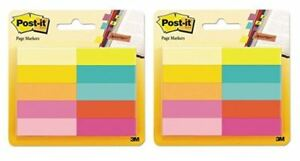 Post it Page Markers 2 pack