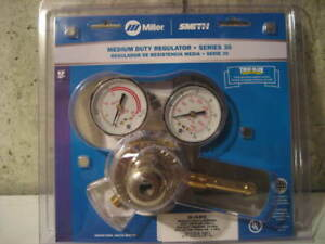 Miller Smith Equipment Series 30 15 510 Medium Duty Flowgauge Regulator New