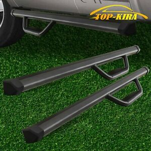 Fit 07 18 Chevy Silverado Regular Cab 3 Drop Running Board Side Step Nerf Bar Bd