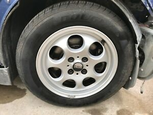 2002 2003 2004 2005 2006 Mini Cooper R52 Wheels And Tires Set 4 Lug 195 60 r15
