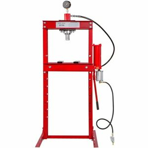New Air Manual Shop Press 20 Ton Auto Automotive Hydraulic Floor Metal Bend