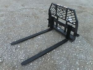 Bobcat Skid Steer Attachment Bradco 60 5 500 Pound Pallet Forks Ship 199