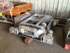 10 Ton Detroit Overhead Crane Powered Hoist Trolley Stock 8004