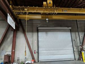 10 Ton X 40 Frontier Double Girder Top Running Overhead Bridge Crane Span