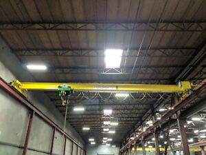 5 Ton X 40 North American Single Girder Under Hung Overhead Bridge Crane