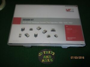 New Wurth Elekronik Wcap csgp Multilayer Ceramic Chip Capacitor Kit 885080