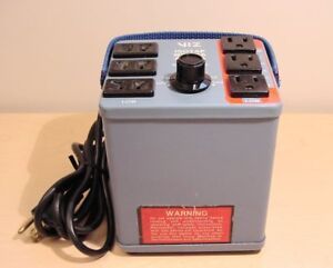 Viz Isotap Wp 26a Variable Isolation Transformer With 3 prong Direct Outlets