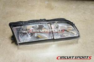 Circuit Sports Clear Headlight Covers V2 For Nissan 240sx Silvia 95 96 S14 Zenki