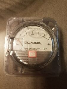 Dwyer Magnehelic Model 2006 102008 00 Differential Pressure Gauge 0 6 Inches
