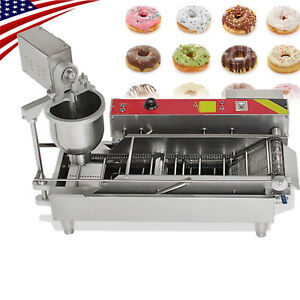 Commercial Electric Automatic Doughnut Donut Machine Donut Maker Ups Shipping Ce