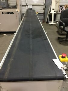 Lynx Flat Belt Conveyor Adjustable Speed Control