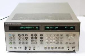 Hp 8664a Synthesized Signal Generator 1 3ghz W Opt 004 Low Noise