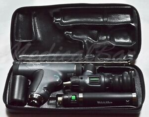 Welch Allyn 3 5v Diagnostic Panoptic Set 97800 ms Otoscope Ophthalmoscope