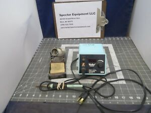 Weller Es2002m Digital Soldering Station W iron Ec1302a Stand b7s5