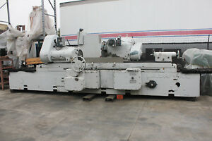 18 Swing X 96 Centers Landis Cylindrical Od Grinder Updated Electrics