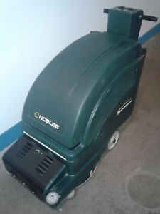 Tennant Nobles Speedgleam Dust Control Burnisher Walk Behind battery Operated