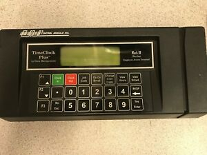 Timeclock Plus Cmi Mark Iii Employee Access Terminal By Data Management Srs 2000