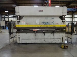 165 Ton X 12 Pacific Press Brake Hydraulic 2 Axis Cnc Metal Metal Bender