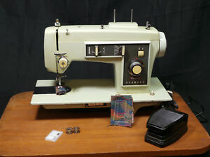 Sears Kenmore 130 Heavy duty Sewing Machine Leather Upholstery Denim 1 2 Amp