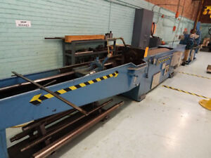 American Horizontal Hydraulic Broaching Machine 15 Ton X 60 Metal Broacher