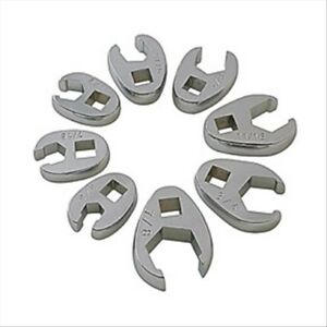 3 8 Drive Fully Polished Sae Flare Nut Crowfoot Wrench Set 8 Pc Sunex Tools
