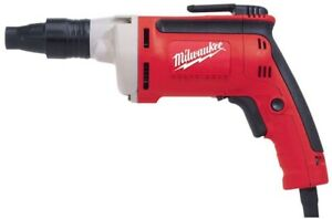 Milwaukee Screwdriver Drill 1 4 In Hex 6 5 Amp Corded Forward Reverse Switch
