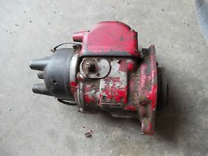 Farmall A B C Bn H Tractor Working International Harvestor Magneto Ih Assembly