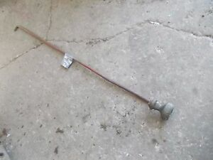 Farmall M Early Sm Tractor Original Ih Hydraulic Control Linkage Rod To Ih Valve