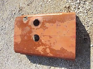 Farmall Sc Tractor Original Factory Ih Front Hood Cover Panel Over Engine