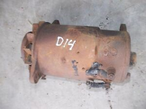Allis Chalmers D14 Tractor Good Working 12v Generator W Belt Pulley